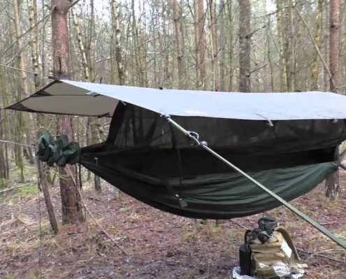 jungle camping hammock